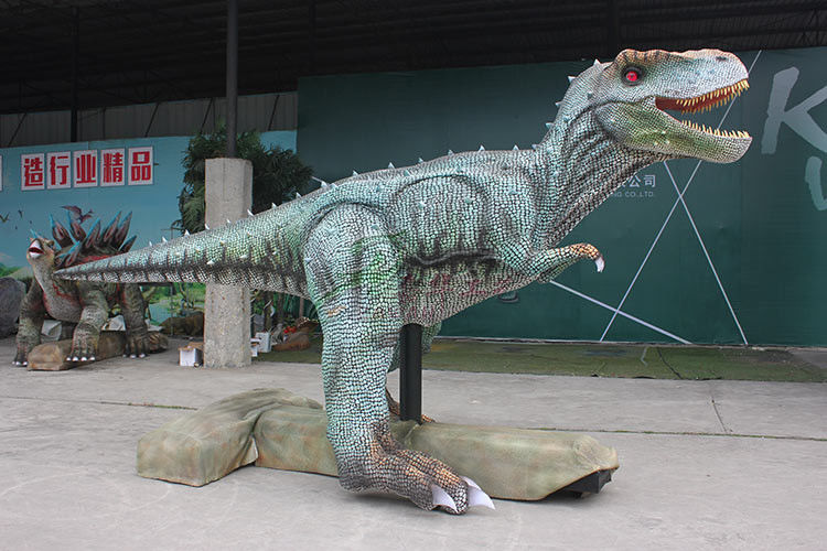 Sun Proof Realistic Dinosaur Model For Outdoor Stage Show / Amusement Park